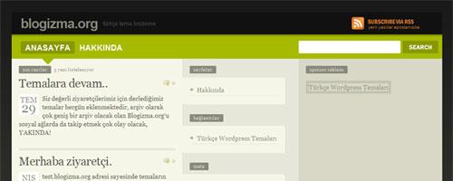 Kişisel Blog Teması Freemium