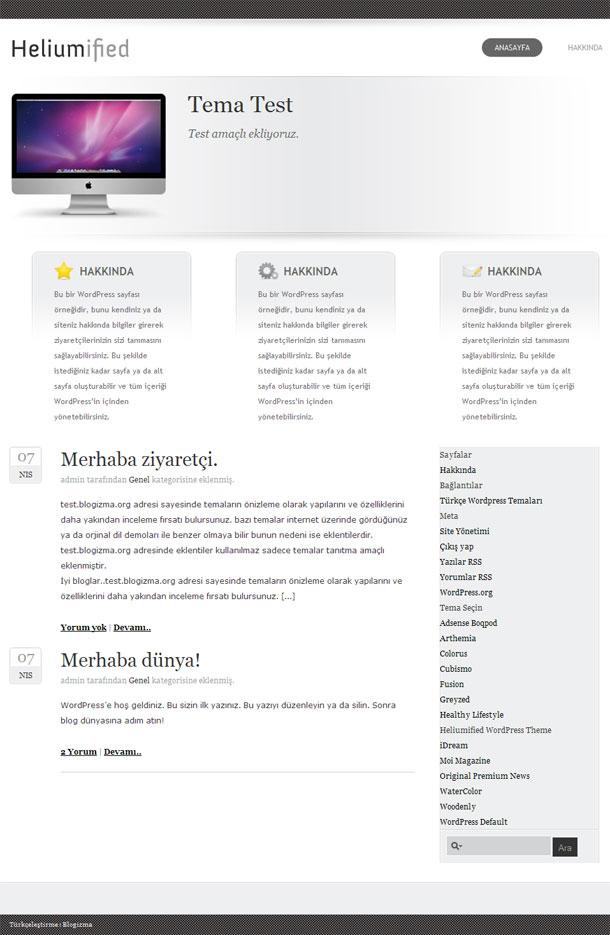 Yeni Wordpress Temaları | Wordpress Templates, Ücretsiz Türkçe ...