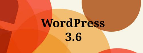 """WordPress 3.6 Sürümü """"Oscar"""" Yayınlandı!"""