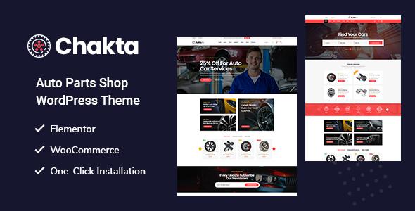 Chakta – Otomobil Yedek Parça E-Ticaret Teması