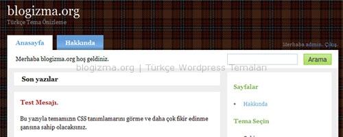 WordPress Cubismo Teması Türkçe!